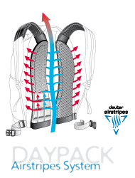Deuter Airstripes System Daypack